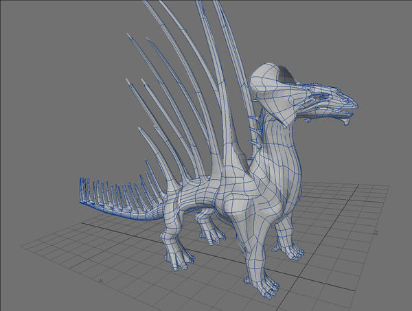 Brass Dragon WIP 3 by Meloncov