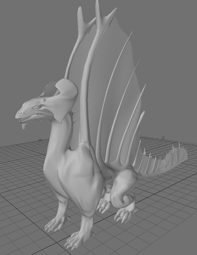 Brass Dragon WIP 6 by Meloncov