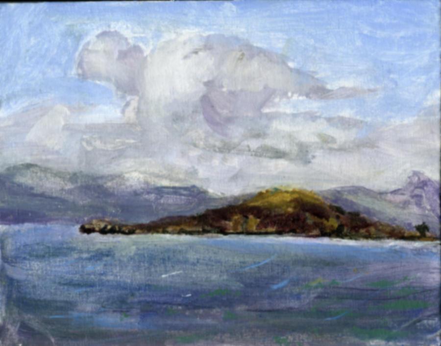 Angel Island by Meloncov