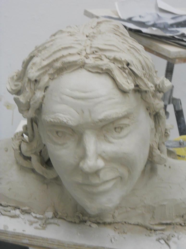 Self-Portrait Sculpture by Meloncov