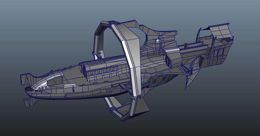 Eberron Airship WIP by Meloncov