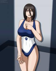 Hanabi in the Bible Black swimsuit