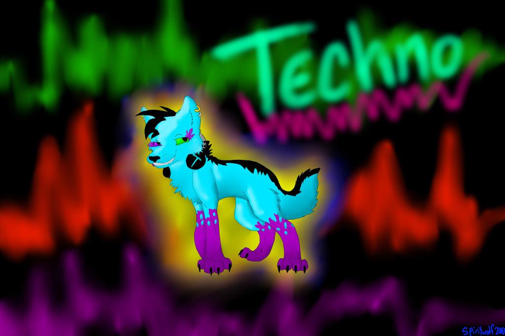 DJ Techno Wallpaper! :D by iW-O-L-F on DeviantArt