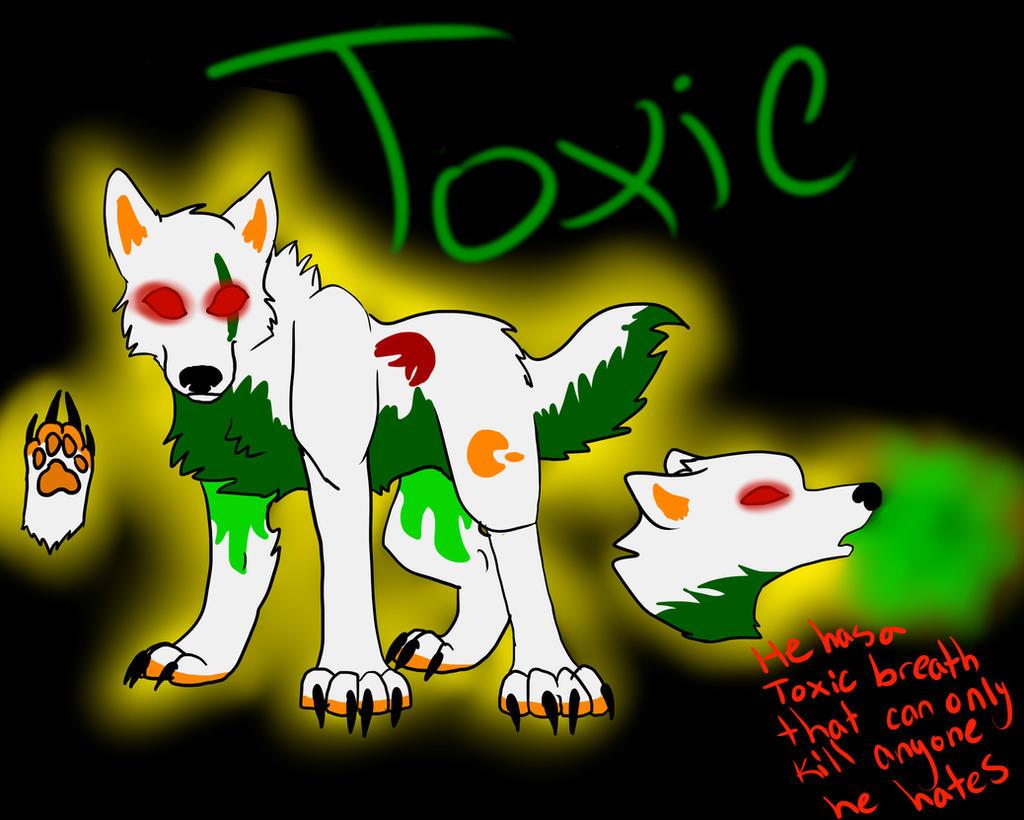 Toxic ref sheet!! by iW-O-L-F