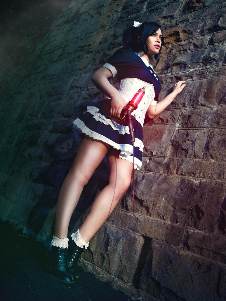 Bioshock (Little Sister Cosplay) by raquelsparrowcosplay ...  Bioshock
