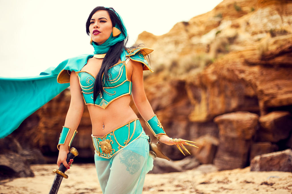 Jasmine Cosplay by raquelsparrowcosplay