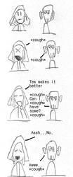 A Bad cough by Af-Mas