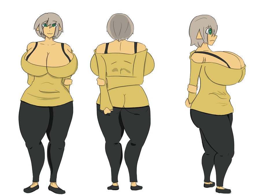 manga character template - aesa character sheet by owlizard