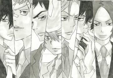 The X generation by Hachi-Komatsuu
