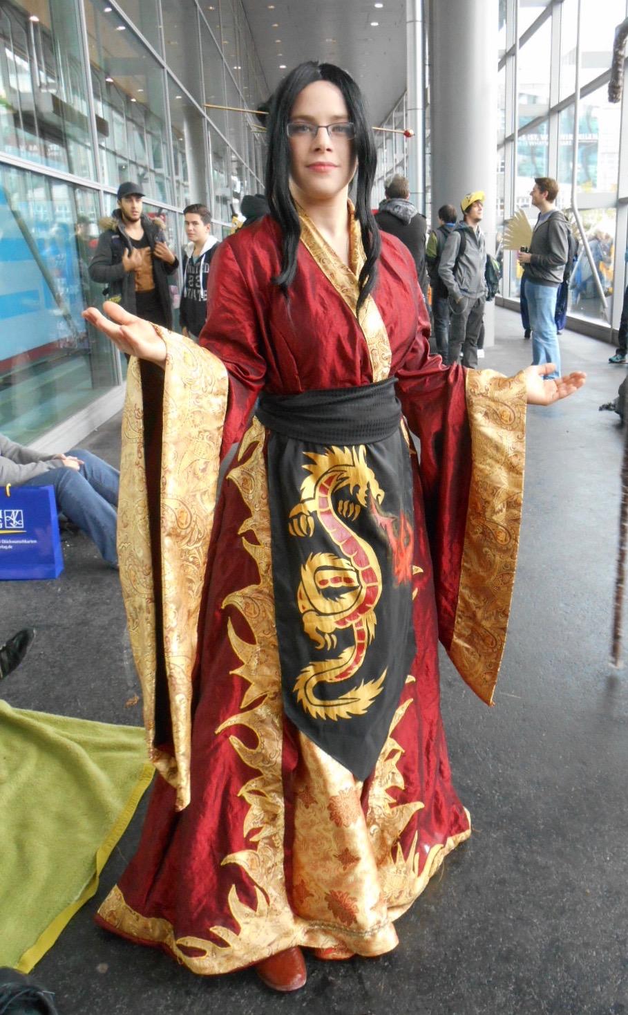 FBM 2016 cosplay: Azula (OC dress) by Lalottered on DeviantArt