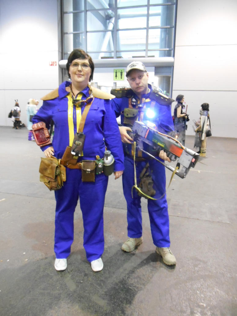 EpicCon Frankfurt 2016 cosplay: Fallout 4 by Lalottered