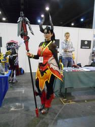 EpicCon Frankfurt 2016 cosplay: Dark Mercy skin by Lalottered