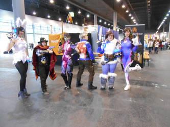 EpicCon Frankfurt 2016 cosplay: Overwatch group