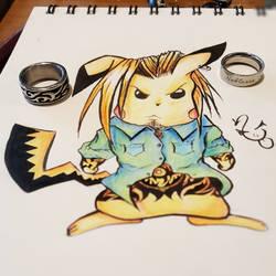 Inked Pikachu
