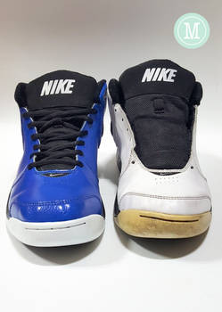 Cold Blue Nike Overplay V recolor