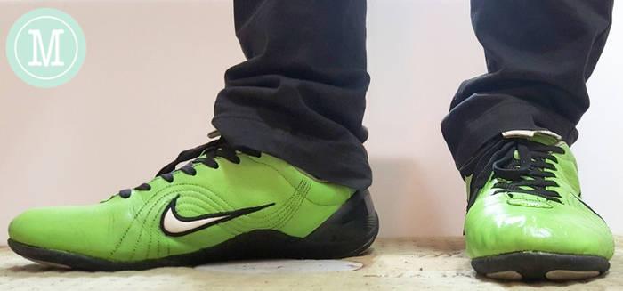 Electric Green Nike Tiempo