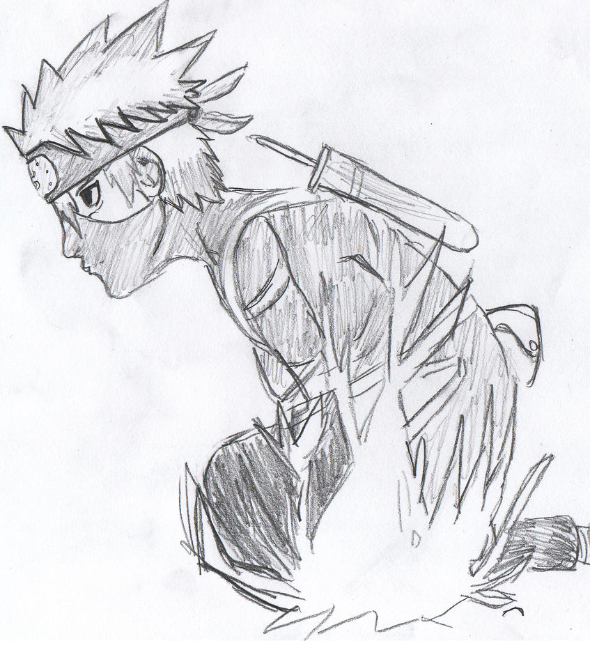 Kid Kakashi Chidori by OtiboArt on DeviantArt
