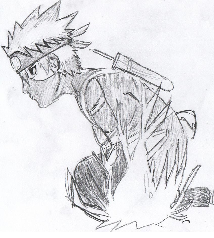 Kid Kakashi Chidori by OtiboArt on DeviantArt