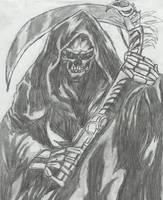 Grim Reaper by EvilAlucardSmile