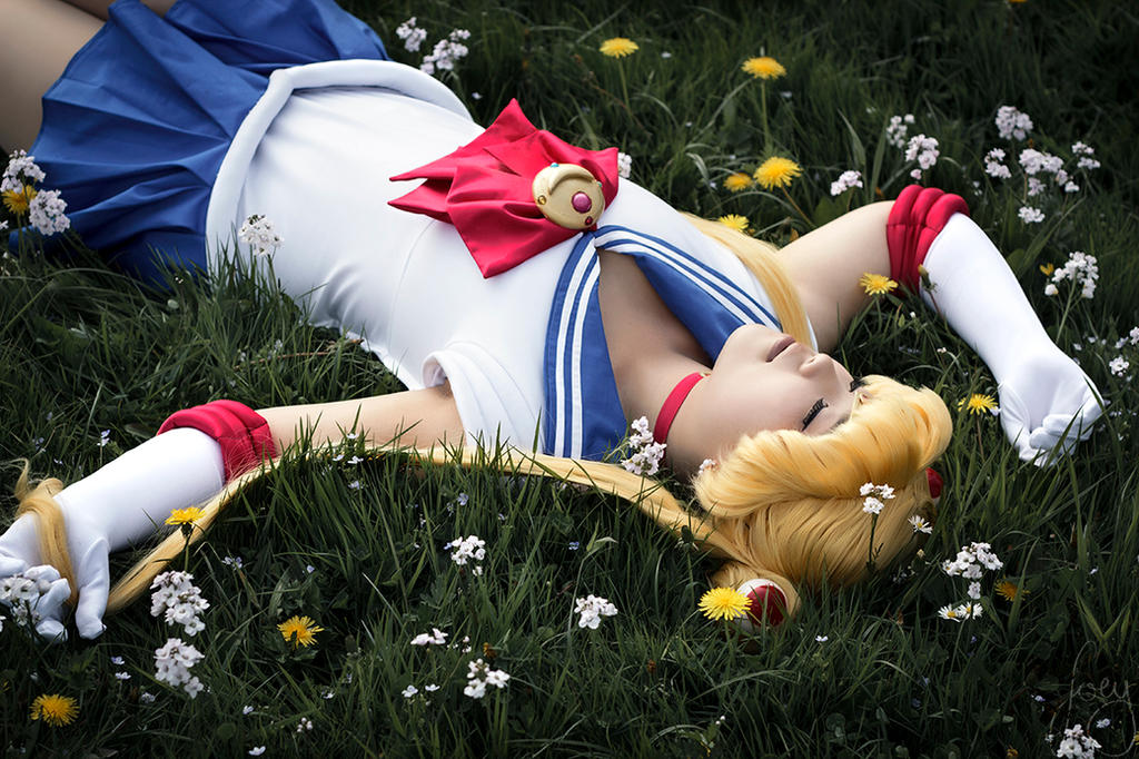 Sailor Moon - take a break by AreiaMinaya