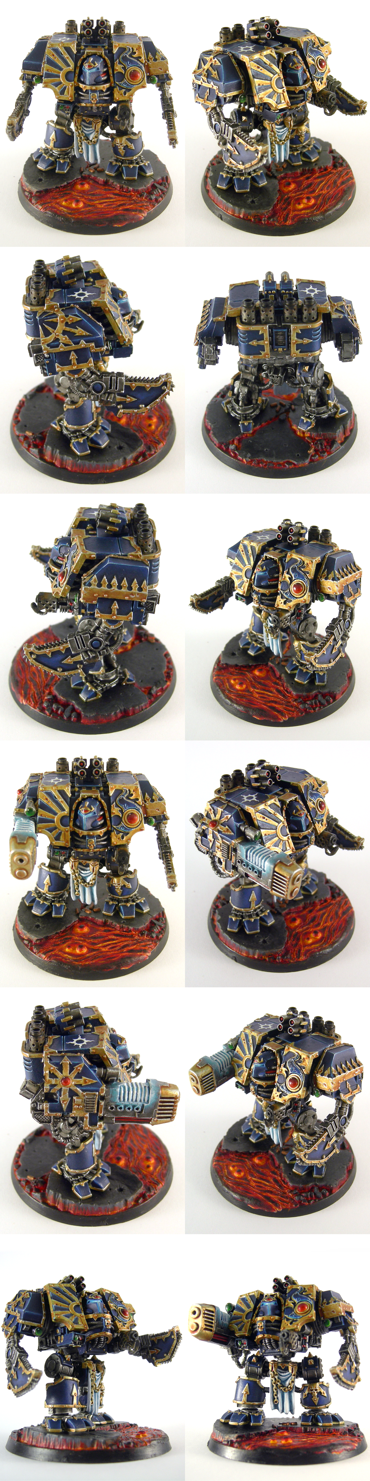 Niu, Forgeworld Thousand Sons Dreadnought by skycat