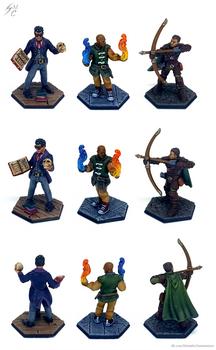 Commission: Heroforge Minis