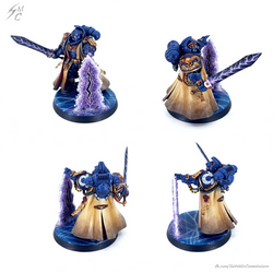 Commission: Ultramarines Librarian