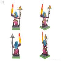 Oldhammer Dark Elf Sorceress 2