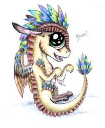 Izzy cuteness by Drakeshya