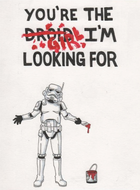 Storm Trooper Valentine by bestsketch
