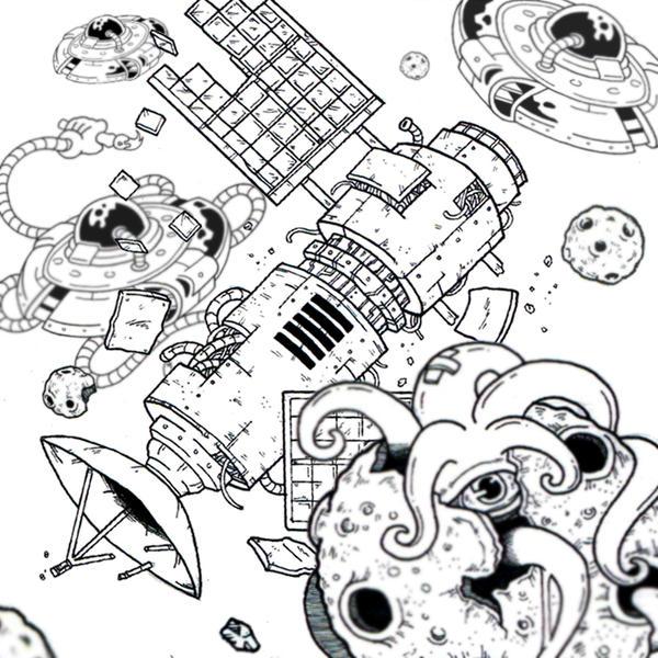 Space Hanus by bestsketch