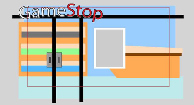 Gamestop Exterior