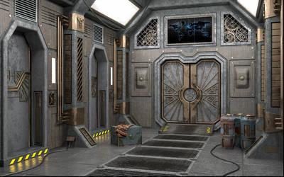Dwemers spaceship by Minomi9