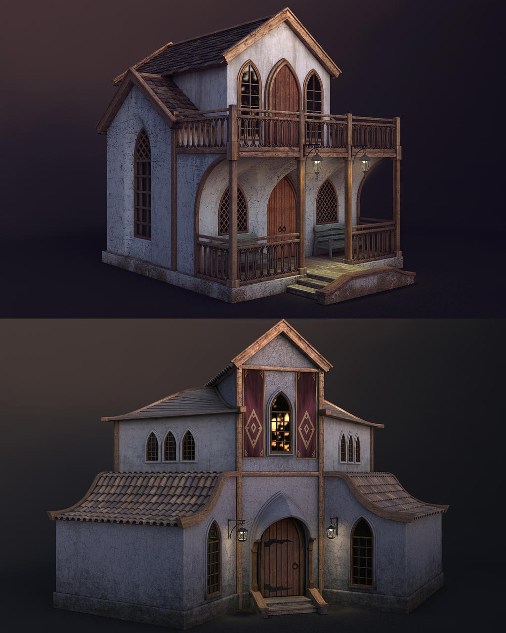 Houses by Minomi9
