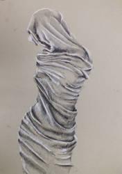 Shrouded figure