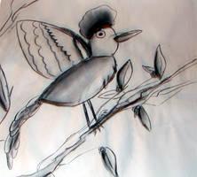 Afro Bird by blackbeardpirate