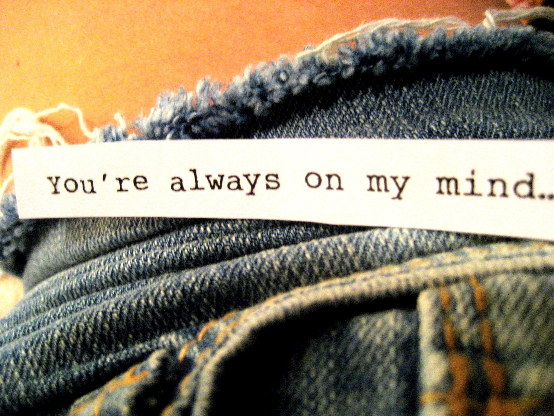 your always on my mind: