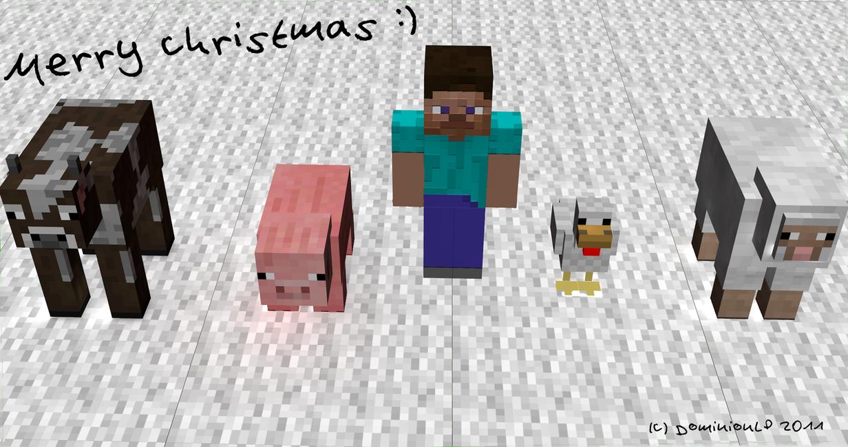 Best Wallpaper Minecraft Christmas - merry_christmas_minecraft_wallpaper_by_dominionlp-d4rhp4d  Photograph_68890.png