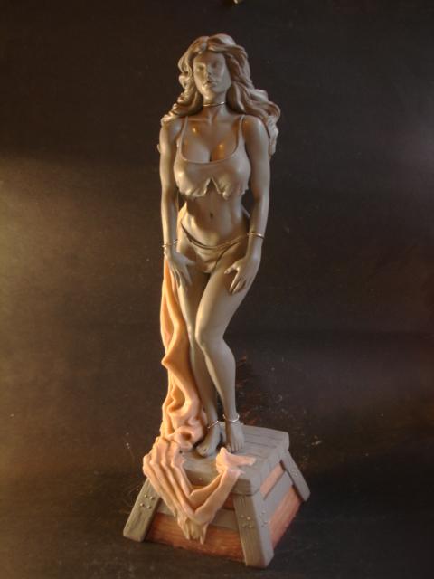 Art: The Auction Block , Ken Kelly