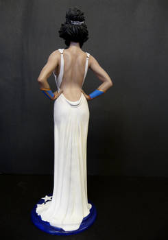 Wonder Woman , evening gown  painted 2