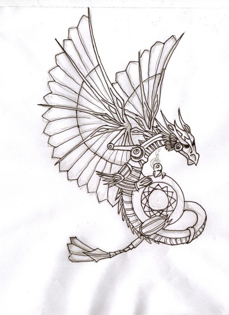 Steampunk Dragon By JBElixir On DeviantArt
