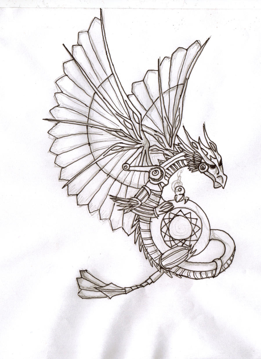Steampunk Dragon By JBElixir On DeviantArt