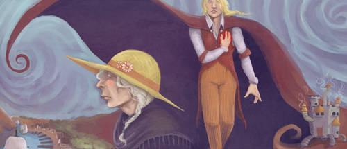 Howls Moving Castle Book Cover