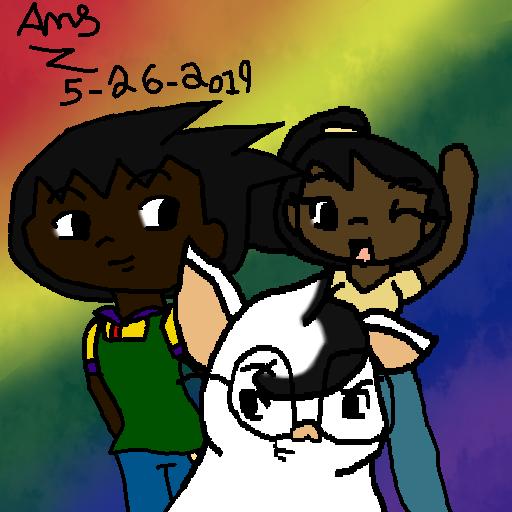 Eddy,LeShawna and Snowball by Ay6