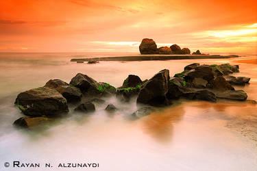 Orange Sunset by rAyAn86