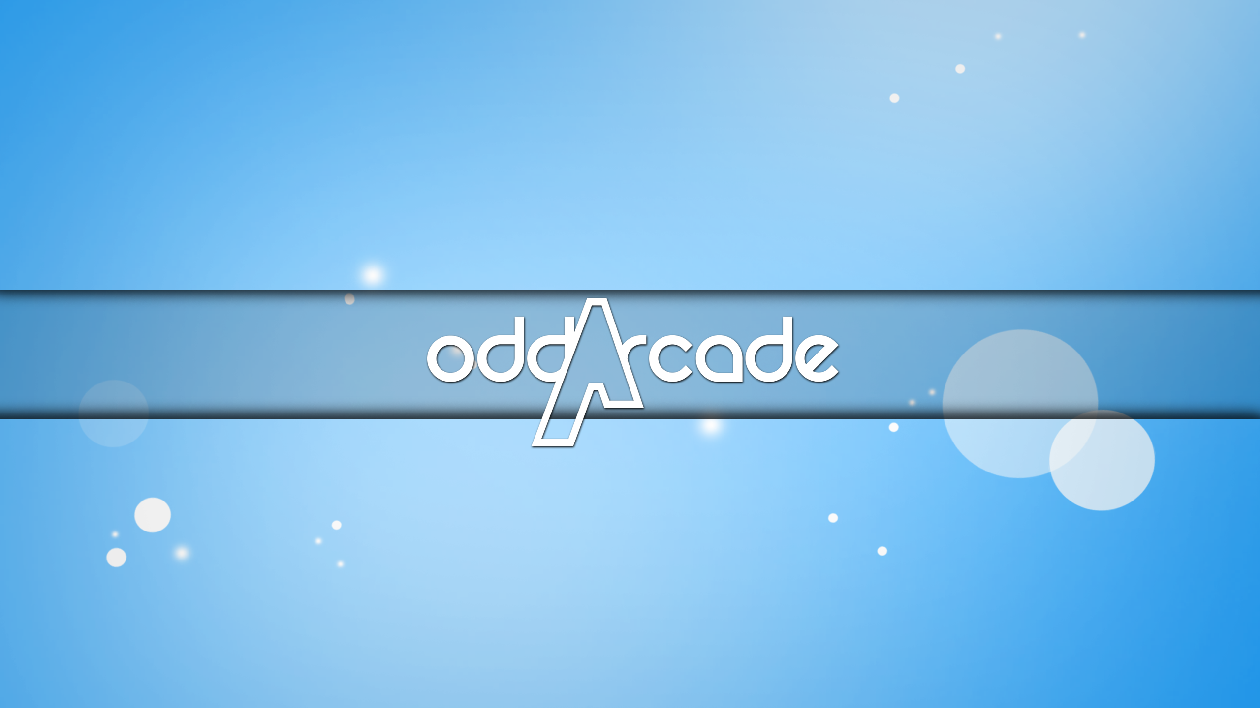 Finished Blue YouTube Banner by OddArcade on DeviantArt