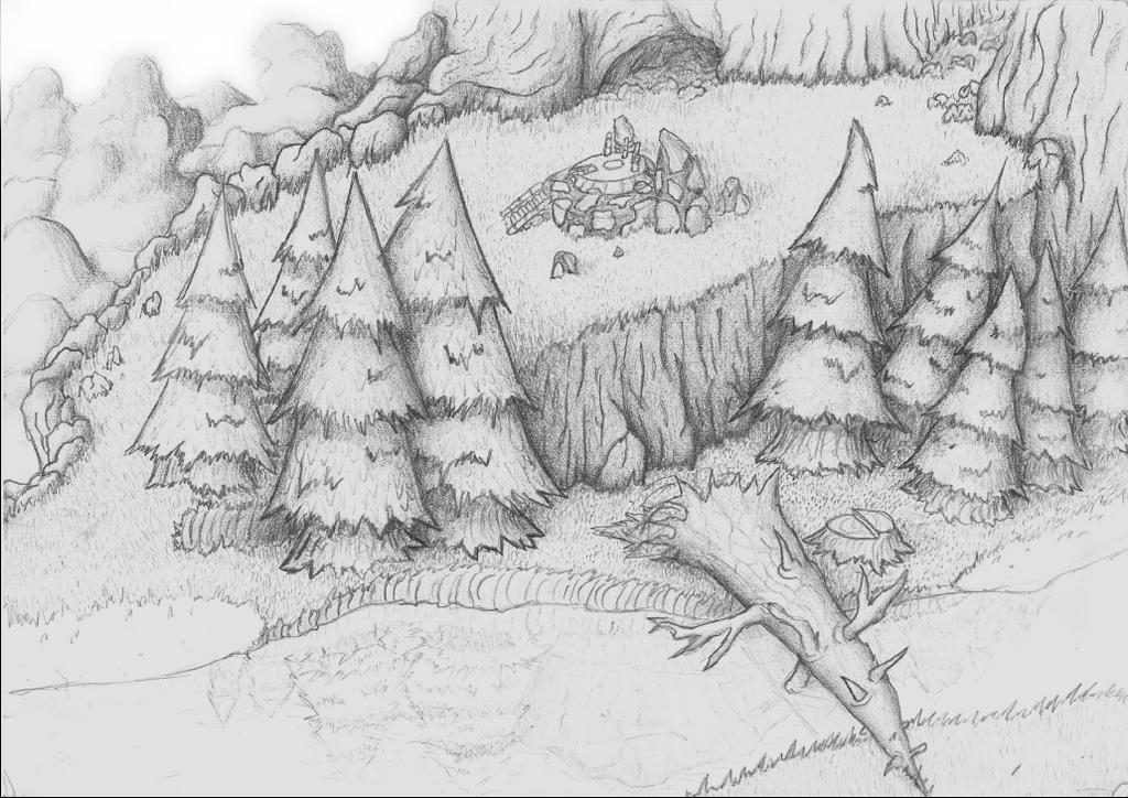 [A3] Highlands Woodlands by Brantonisme