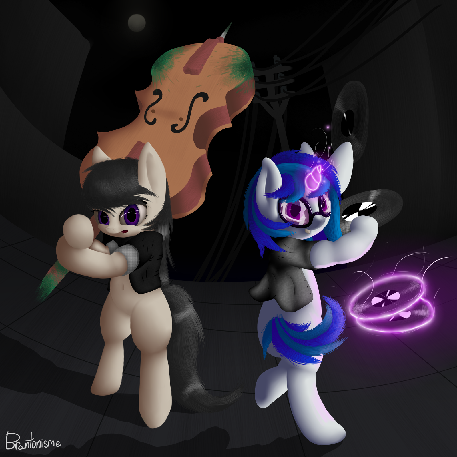Musicians vs Changelings by Brantonisme