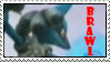 Lucario in Brawl Stamp by Pyong-Master