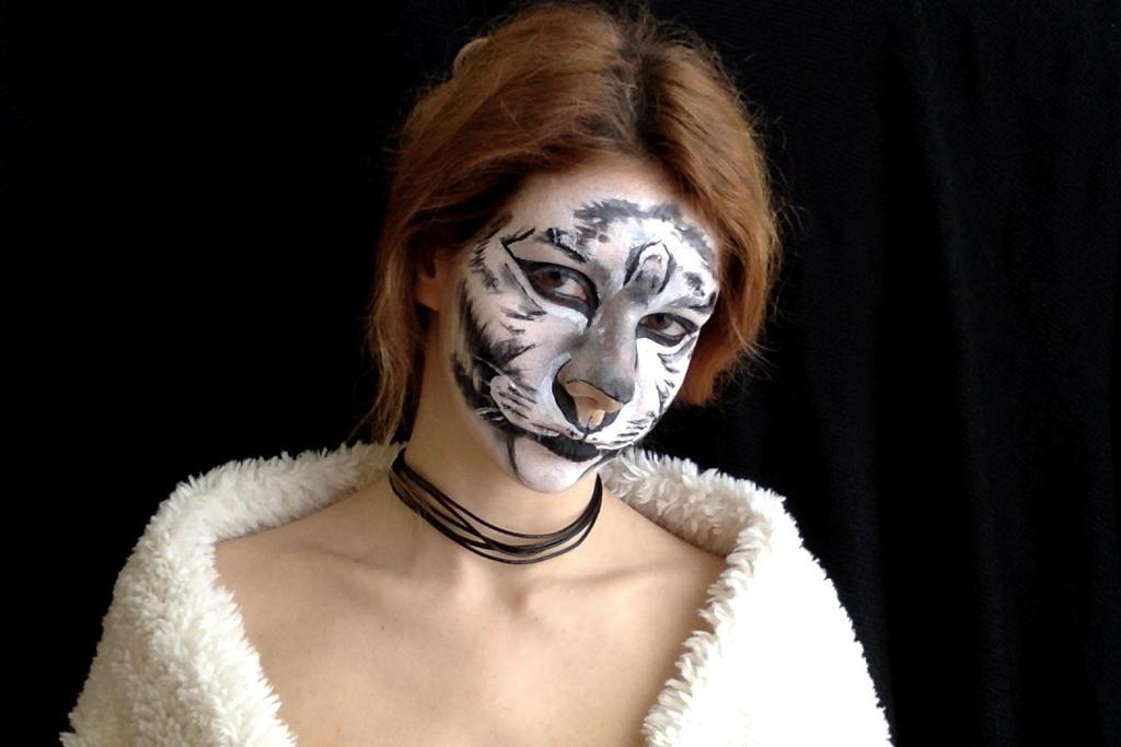 White Tiger MakeUp